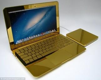 Золотой ноутбук