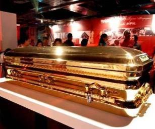 Золотой гроб