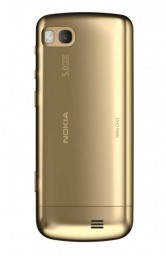 Золотой телефон Nokia C3-01