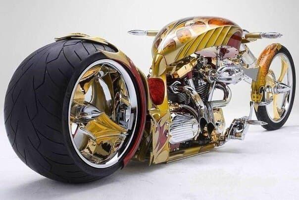 Золотой мотоцикл