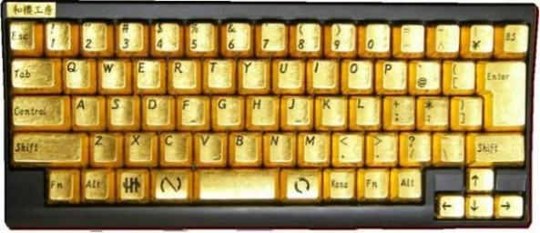 Золотая клавиатура