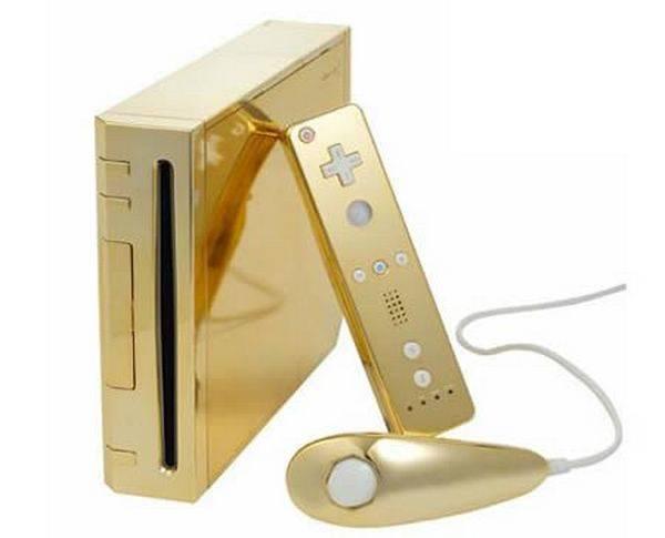 Золотая игровая приставка