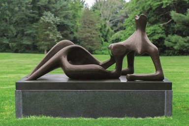 Скульптура «Полулежащая фигура»