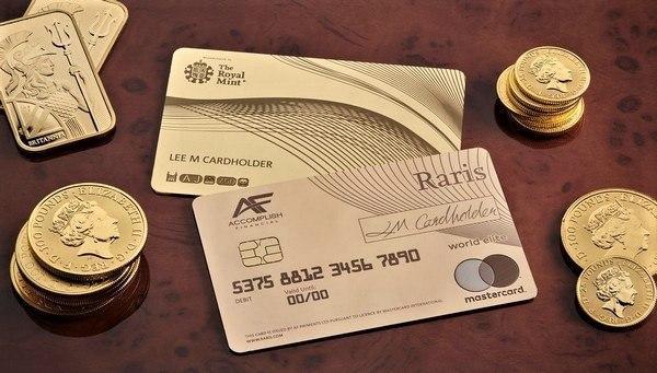 Эксклюзивная дебетовая карта MasterCard