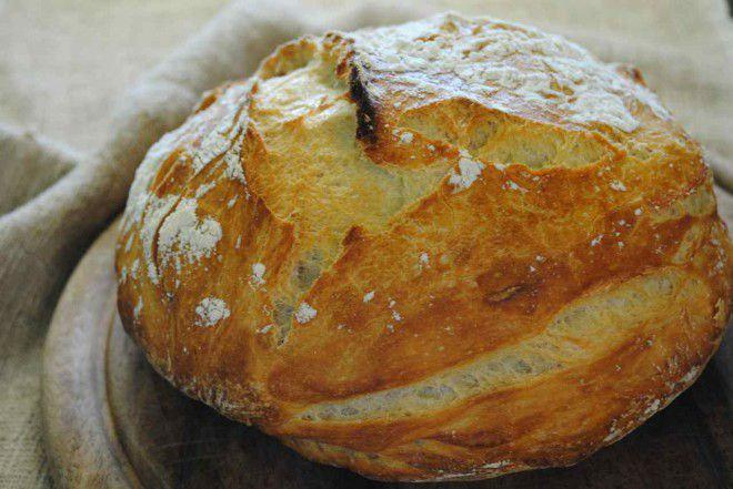 Roquefort and Almond Sourdough Bread