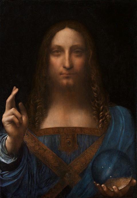 """Это """"Спаситель мира"""" - картина Да Винчи"""